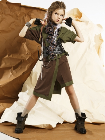 GemKids | Юбка-шорты Sibeling | Одежда для детей и подростков |