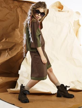 GemKids   Юбка-шорты Sibeling   Одежда для детей и подростков  