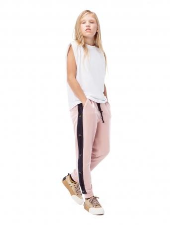 GemKids | Брюки Easnadh Pink | Одежда для детей и подростков |